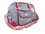 Baby Charms Changing Bag with Pad, 39 x 32 x 16 cm, Model# 12356 by Baby Charms