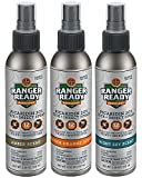 Ranger Ready Repellents Picaridin 20% Tick + Insect Repellent Spray Travel Pack | Variety | 3X 100ml/3.4oz