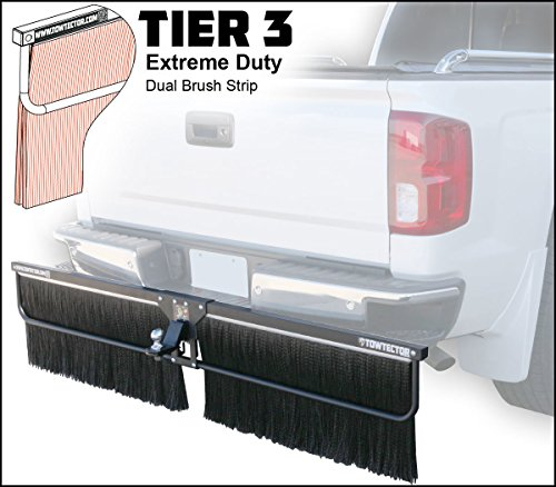 Towtector Tier 3 Mud Flap 27823-T3 Extreme Duty Dual Brush Strip - 78
