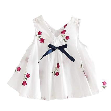 e6dbbf1593ddc Amazon.com  ❤ Mealeaf ❤ Newborn Kids Baby Girl Flower Princess ...