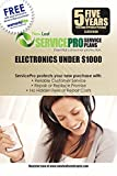 ServicePro 5-Year Service Plan for Electronics Between $750 - $999.99 (ELE5U1000)