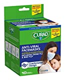 best seller today Curad Antiviral Face Mask, 10 Count