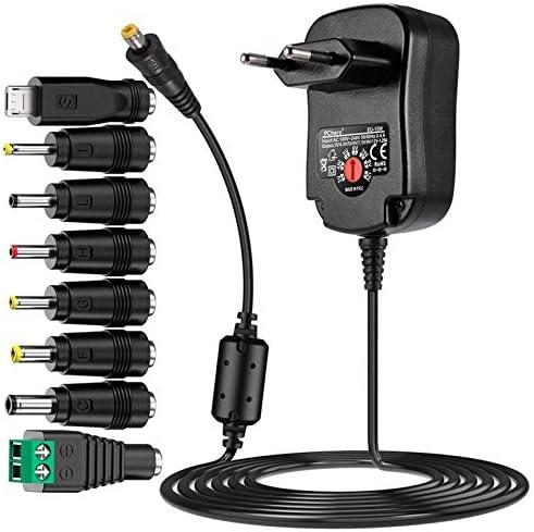 Pchero 12 W Universal Power Plug With 150 Cm Cable Elektronik