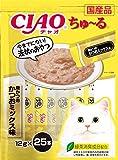 CIAOちゅーる チャオ (CIAO) ちゅ~る 焼かつおかつおミックス味 14g 25本
