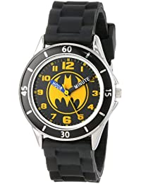 Boy's Quartz Metal and Rubber Watch, Color:Black (Model:...