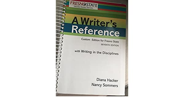 a writers reference 8th edition diana hacker pdf free