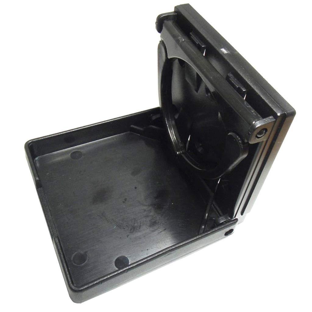 pu/ò Contenere Tazza//Bottiglia//Tazza Portabicchieri Universale per Veicoli Black \u0026 Shiwaki Supporto per Bibite Pieghevole Pieghevole 2X RV Marine