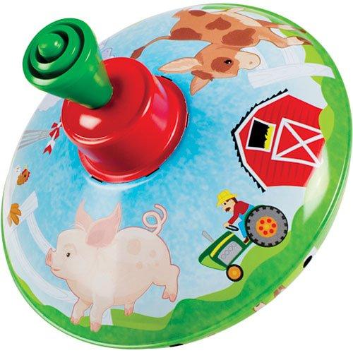 Toysmith TSM5392 Farm Top Toy]()