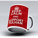 New Keep Calm And Support Fulham Craven Cottage FC 11OZ Tea Coffee Cup Mug by iCaseCreative
