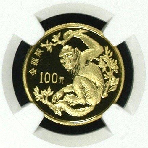 1988 CN China 1988 Gold Coin 100 Yuan Endangered Wildlife coin PF 69 Ultra Cameo NGC