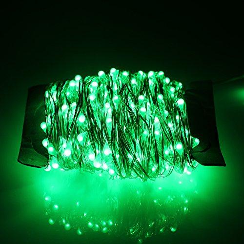 china-oem ER CHEN Led String Lights 300 Leds Warm Green C...