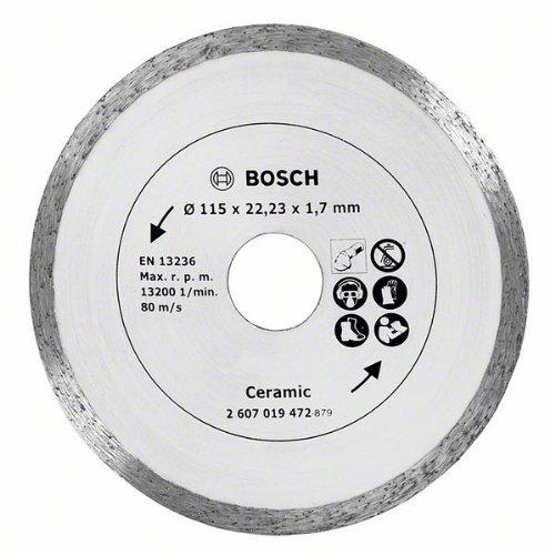 Bosch DIY Diamanttrennscheibe für Fliesen (Ø 115 mm)