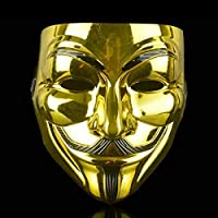 Anonymous Hacker V for Vendetta Guy FAIGES Fancy Dress Halloween FACE MASK AU