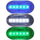 AMRT-LED-51867-DP * T&H Marine BLUE LED Underwater Lites 1.5'' X 3.5''