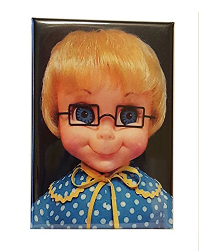"Mrs. Beasley Doll 2"" x 3"" Fridge Magnet Refrigerator Gift Family Affair TV show Beasely"