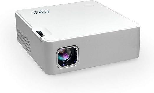 Sihan Mini Proyector Portatil Full HD para Movil para Videojuegos ...