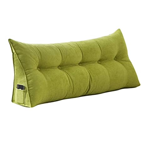 baixx Sofá cama Cojín de cuña triangular con relleno grande ...