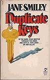 Duplicate Keys, Jane Smiley, 0671551728