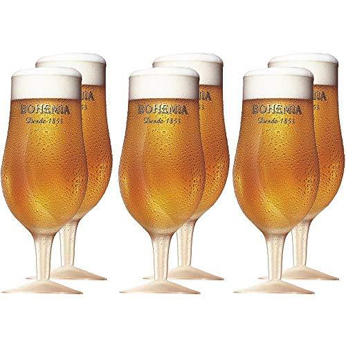 Bohemia Pilsen Jogo com 02 Taças para Cerveja Ambev Transparente 380Ml