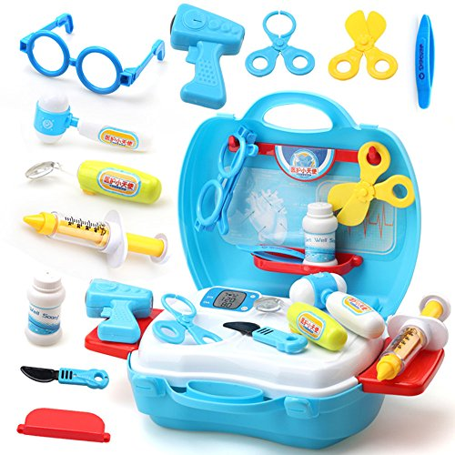 Classic Ltd Kit (Doctor kit for kids Toys & Hobbies Classic Toys Pretend Play Simulation toy Cosplay For children (C typ))
