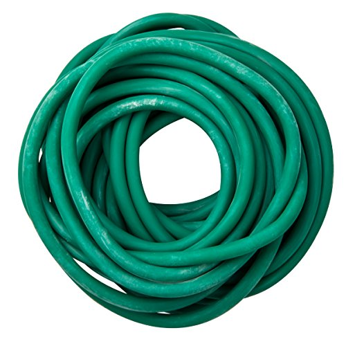 10-5513 Green Exercise Tubing, Medium Resistance, 25' Length