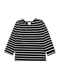 Kids Tales Little Boys Girls Unisex Long Sleeve Striped Tee Star T-Shirt