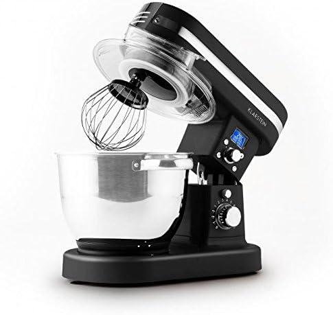 Klarstein 10027888 1200W 5.5L Negro - Robot de cocina (5,5 L, Negro, Botones, Giratorio, 2 L, 220-240, Acero inoxidable): Amazon.es: Hogar