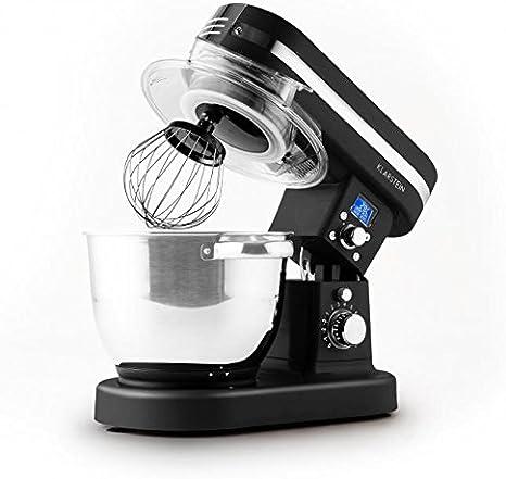 Klarstein 10027888 1200W 5.5L Negro - Robot de cocina (5,5 L ...
