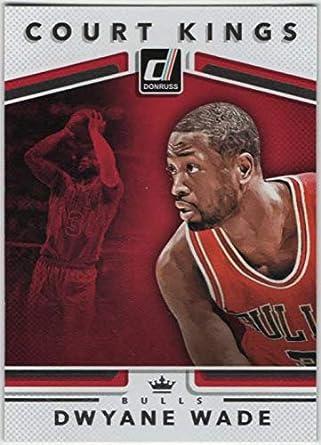 Amazon Com 2017 18 Donruss Basketball Court Kings 4 Dwyane Wade