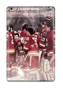 Tpu Case For Ipad Mini/mini 2 With Calgary Flames (24)