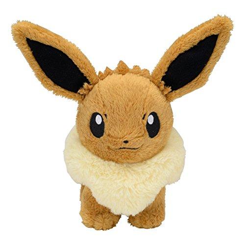 Pokemon Center Original Plush Doll Standing Eevee 602-242057