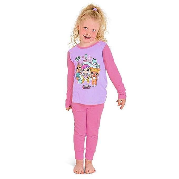 083cde38a L.O.L Surprise Dolls Pijama para niñas Soft Cotton PJs Pijamas Confetti Pop  Pjs Lil Sisters  Amazon.es  Ropa y accesorios