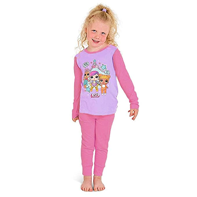 47db4552e3 L.O.L Surprise Dolls Pijama para niñas Soft Cotton PJs Pijamas Confetti Pop  Pjs Lil Sisters  Amazon.es  Ropa y accesorios