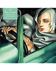 Adult Jigsaw Puzzle Tamara de Lempicka: Tamara in the Green Bugatti, 1929: 1000-piece Jigsaw Puzzles