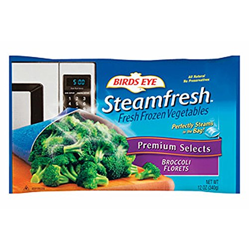 BIRDS EYE STEAMFRESH VEGETABLES BROCCOLI FLORETS 12 OZ PACK OF 3 by BIRDS EYE at The Neighborhood Corner Store (Image #1)