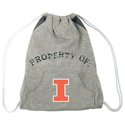 Illinois Fighting Illini Backpack (NCAA Illinois Fighting Illini Hoodie Cinch Backpack)