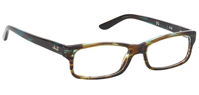 8dcd60fbde ... where can i buy ray ban rx5187 rb5187 eyeglasses 2445 havana green 50mm  eeef7 f9a46