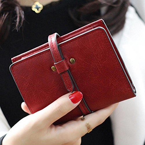 Clutch matted Bag Widewing Multi Korean Card Retro Purse bit red Student 88POga