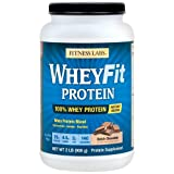 Fitness Labs WheyFit Protein (2 Pounds, Dutch Chocolate)