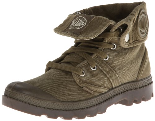 PALLABROUSE BAGGY~DK OLIVE/DK GUM~M - Casual de lona mujer, color multicolor, talla 37 Palladium