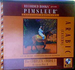 Audio CD Pimsleur Arabic Complete Course I Beginners Part B Book