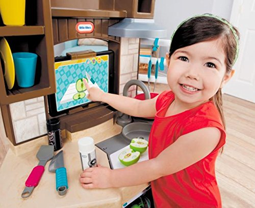 51hlYYqjatL - Little Tikes Cook 'n Learn Smart Kitchen