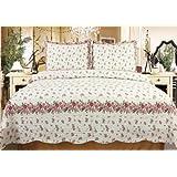 Verona Luxury 3pcs Cotton Quilt Set