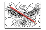 Tattoo Coloring Book: An Adult Coloring Book with