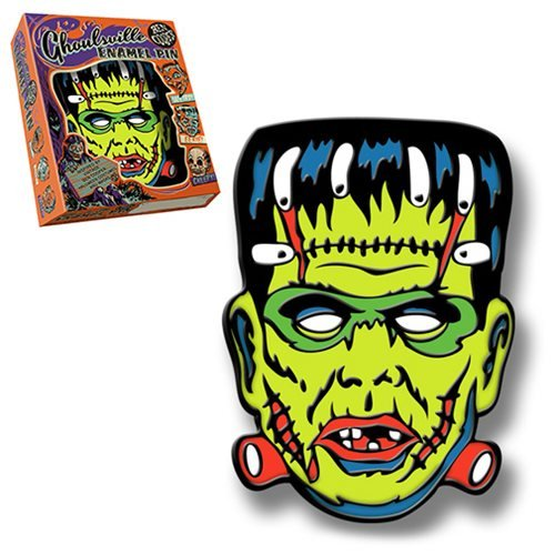 Retro-A-Go-Go Ben Cooper Ghoulsville Lil' Frankie Lapel Pin]()