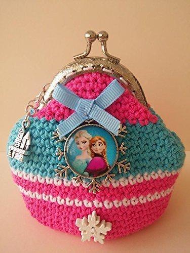 Monedero Frozen crochet.: Amazon.es: Handmade