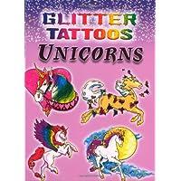 Glitter Tattoos Unicorns (Dover Tattoos)