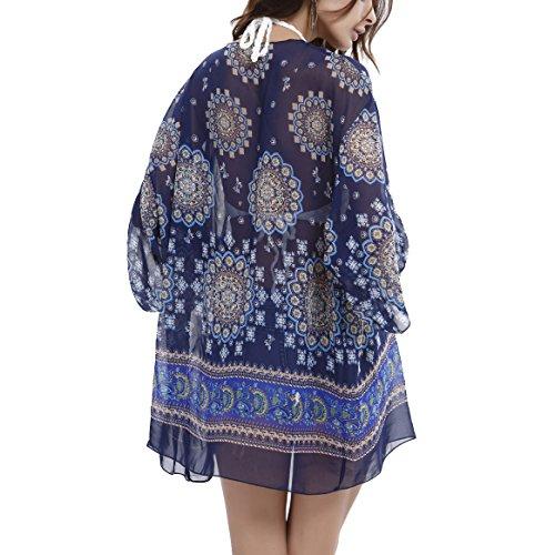 Victona - Camisola - para mujer Azul