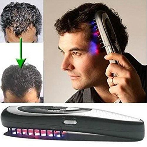 Hair Growth Comb HUBEE Electric Loss Regrowth Hair Brush (Hair Growth Brush)