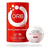 ORB SMOOTH ENERGY COMPLEX – Energy Formula + MCT Oil for Easier Absorption | Provides Sustained Smooth Energy, Supports an Alert Mental State, Time-Released Beadlets for Consistent Energy – 30 count